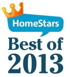 homestars award best of 2013