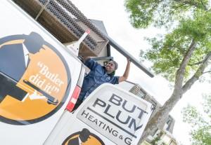 Butler Plumbing Van
