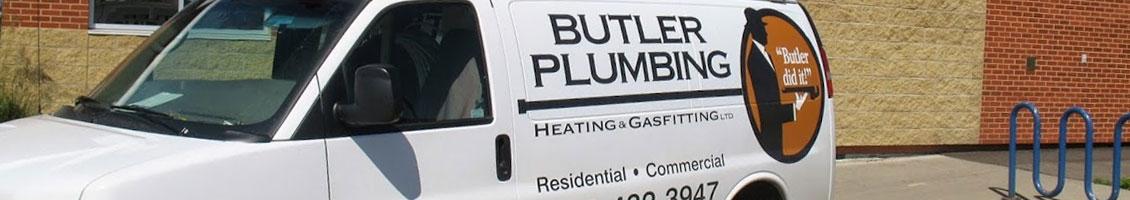 Butler Plumbing Van Banner