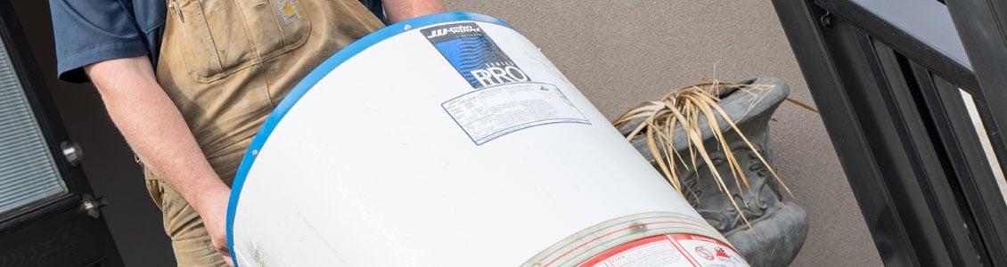 Slide water heater repair