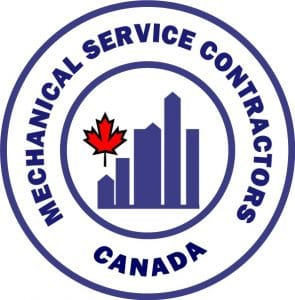 Mechanical Service Contractors Canada 'Gold Standard' Award